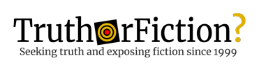 Logo for TruthorFiction.com
